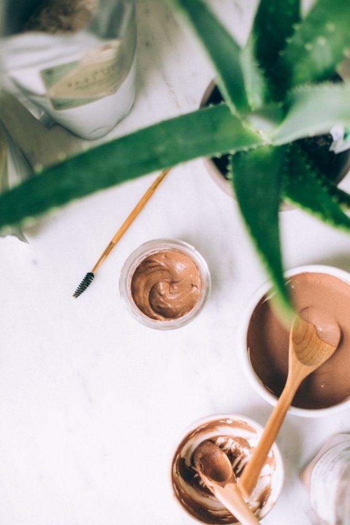 Aloe vera pour les vergetures : Aloe Vera et beurre de cacao
