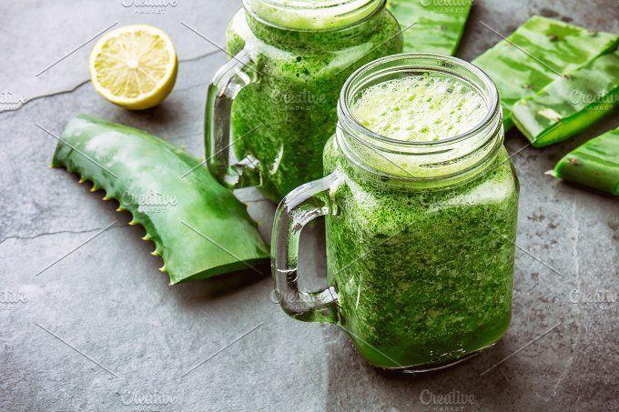 Aloe vera pour les vergetures : Aloe Vera et jus de citron